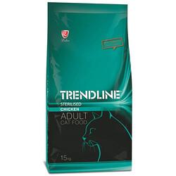 Trendline - Trendline Sterilised Tavuk Etli Kısırlaştırılmış Kedi Maması 15 Kg