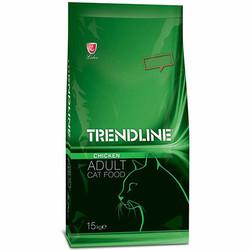Trendline - Trendline Tavuklu Yetişkin Kedi Maması 15 Kg