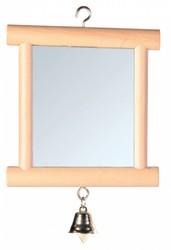 Trixie - Trixie Zilli Ahşap Çerçeveli Kuş Aynası 9x10 Cm