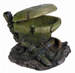 Trixie - Trixie Deniz ve Tatlı Akvaryum Dekoru Süs Tuvalet 10 Cm