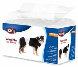 Trixie - Trixie Erkek Köpek Pedi, L - XL, 60 - 80 cm - 12 Adet