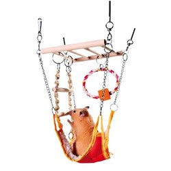 Trixie - Trixie Hamster Hamaklı Asma Köprü 17x22x15 Cm
