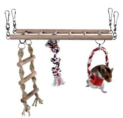 Trixie - Trixie Hamster İçin Asma Köprü 29x25x9 Cm