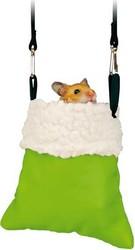 Trixie - Trixie Hamster İçin Peluş Çanta 11/14X12 Cm