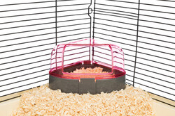 Trixie Hamster Köşe Tuvaleti 14 x 8 x 11 / 11 Cm - Thumbnail