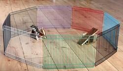 Trixie - Trixie Hamster Oyun Bahçesi 34 x 23 Cm (8 Parça)