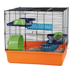 Trixie - Trixie Hamster Tam Donanımlı Kafesi 40x38x30 Cm