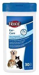 Trixie - Trixie Islak Kulak Temizleme Mendili, 30 Adet