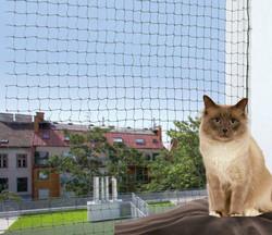 Trixie - Trixie Kedi Cam Koruma Ağı 8X3M, Yeşil