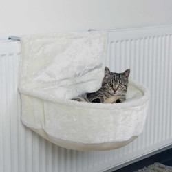 Trixie - Trixie Kedi Kalorifer Yatağı, Peluş, 45X13X33cm
