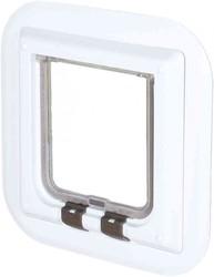 Trixie - Trixie Cam İçin Beyaz Kedi Kapısı 27x27 Cm