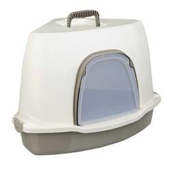 Trixie - Trixie Kedi Köşe Tuvalet, 55 × 42 × 42 cm