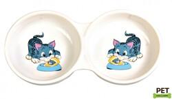 Trixie - Trixie Kedi Mama Su Kabı Porselen 2 x 0,15 Lt