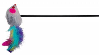 Trixie Kedi Oltası Ucunda Peluş Fare 50 cm