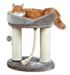 Trixie - Trixie Kedi Oyun & Tırmalama Evi 60 cm, Gri