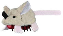 Trixie - Trixie Kedi Oyuncağı Hareketli Fare 5. 5 cm