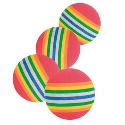 Trixie - Trixie Kedi Oyuncağı Renkli Top 3,5 cm