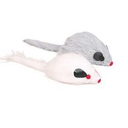 Trixie - Trixie Kedi Oyuncağı, Tüylü Sesli Peluş Fare 9 cm