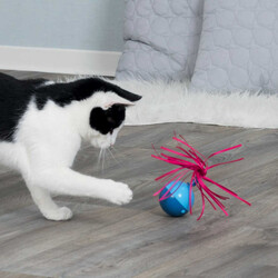 Trixie - Trixie Kedi Oyuncak Pilli Top 6 x 9 cm