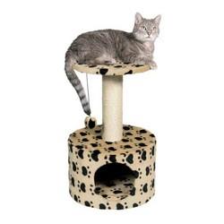 Trixie - Trixie Kedi Oyun&Tırmalama Evi, 61 cm, Bej, Patili