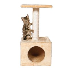 Trixie - Trixie Kedi Oyun&Tırmalama Evi, 61cm, Bej