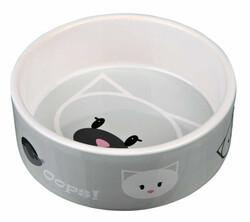 Trixie - Trixie Kedi Seramik Mama Su Kabı, 0.3 Lt / 12 cm