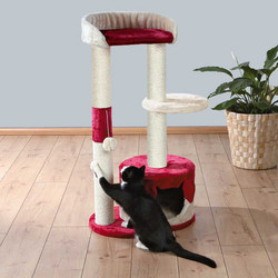 Trixie - Trixie Kedi Tırmalama, 100 cm, Bej/Kırmızı