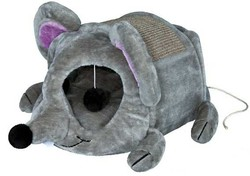 Trixie - Trixie Kedi Tırmalama Oyun Evi 35X33X65cm Gri