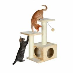 Trixie - Trixie Kedi Tırmalama Ve Oyun Evi 71cm, Bej