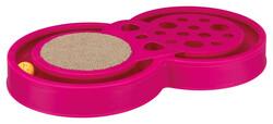 Trixie - Trixie Kedi Tırmalama Ve Oyuncak 60 cm x 33 cm (Pembe)
