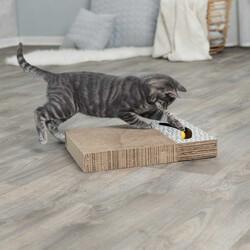 Trixie - Trixie Kedi Tırmalaması Oyuncaklı 38 x 30 cm Beyaz