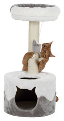 Trixie - Trixie Kedi Tırmalaması ve Evi 71 Cm Beyaz / Gri