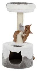 Trixie - Trixie Kedi Tırmalaması Ve Evi, 71 cm, Beyaz/Gri