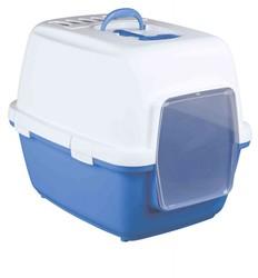 Trixie - Trixie Kedi Tuvaleti Kapalı 45x48x58cm Mavi