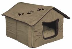 Trixie - Trixie Kedi Yatağı 35X30X40cm Mor