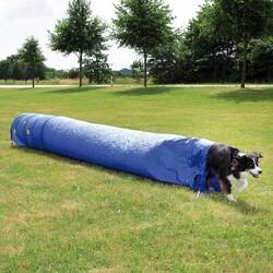 Trixie - Trixie Köpek Agility Eğitim Tüneli Mavi 60 Cm / 5 Mt