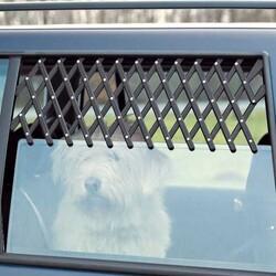 Trixie - Trixie Köpek Araba Camı Parmaklığı 30 - 110 Cm (Siyah)