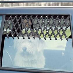 Trixie - Trixie Köpek Araba Camı Parmaklığı 30-110 Cm (Siyah)