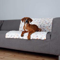 Trixie - Trixie Köpek Battaniyesi 100 x 75 Cm Beyaz / Bej