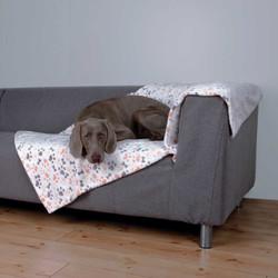 Trixie - Trixie Köpek Battaniyesi 150X100cm Beyaz/Bej