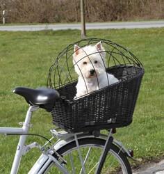 Trixie - Trixie Köpek Bisiklet Sepeti 35 x 49 x 55 Cm Siyah