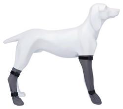 Trixie - Trixie Köpek Çorabı, Su Geçirmez, S:6cm/30cm Gri