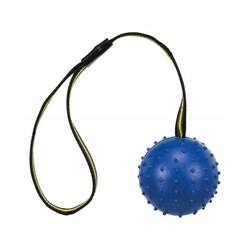 Trixie - Trixie İpli Top Doğal Kauçuk Köpek Oyuncağı 6×35 Cm (Mavi)
