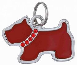 Trixie - Trixie Köpek İsimlik Köpek Şeklinde, 3,5 x 2,5 Cm