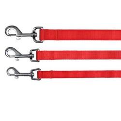 Trixie - Trixie Köpek Kayış Klasik L-XLarge 1M/25 mm (Kırmızı)