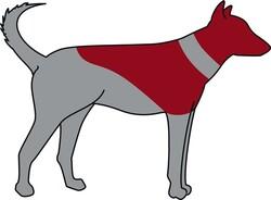 Trixie Köpek Koruyucu Şişme Yakalık M - L, Mavi - Thumbnail