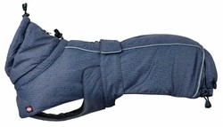 Trixie - Trixie Köpek Paltosu Medium 45 Cm Mavi