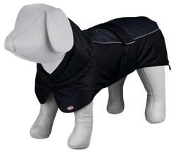 Trixie - Trixie Köpek Paltosu Medium 45 cm Siyah/Gri