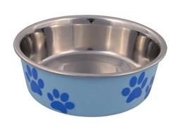Trixie - Trixie Köpek Paslanmaz Mama ve Su Kabı 0.4L/14 Cm