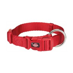 Trixie - Trixie Köpek Premium Boyun Tasması L-XL (Kırmızı)